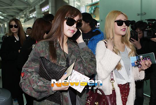 T-ARA、3月14日韓国出国時の画像まとめ