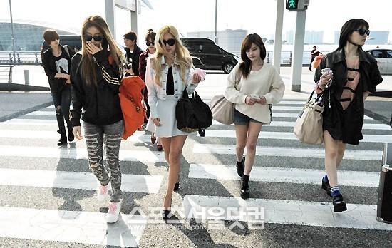 T-ARAが4月24日『Mカウントダウン台湾特集』のため出発-空港画像まとめ