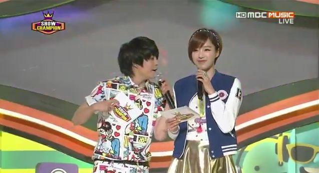 5月8日放送『ショー!チャンピオン』ウンジョンMC動画