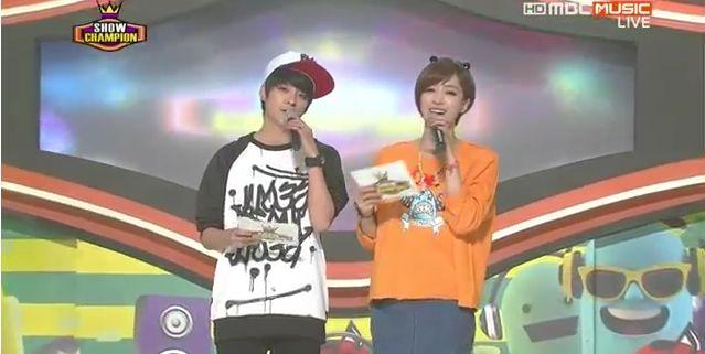 5月29日放送『ショー!チャンピオン』ウンジョンMC動画