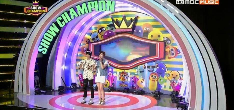 5月15日『ショー!チャンピオン』ウンジョンMC動画