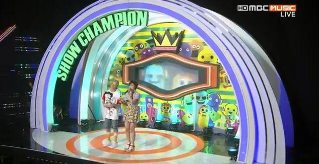 7月10日放送『ショー!チャンピオン』ウンジョンMC動画