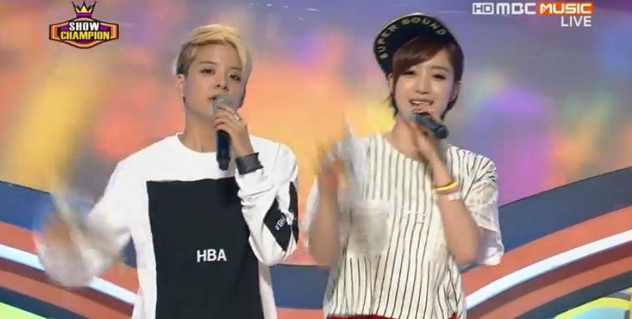 T-ARAウンジョン8月22日放送『ショー!チャンピオン』MC動画