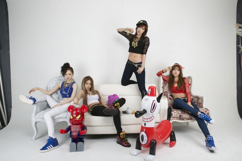 T-ara N4-コアコンテンツメディア公式画像最新版「アルムの姿も」