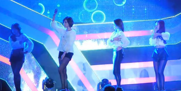 13年10月13日ソウル広場T-ARA『ナンバーナイン(No 9)』ライブ動画