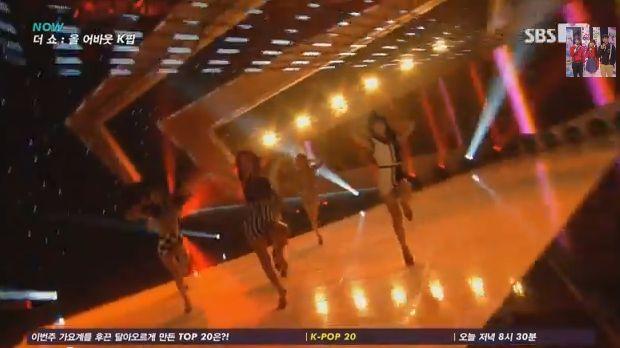 13年10月22日『SBS MTV The Show All About K-POP』T-ARA『No.9』ライブ動画