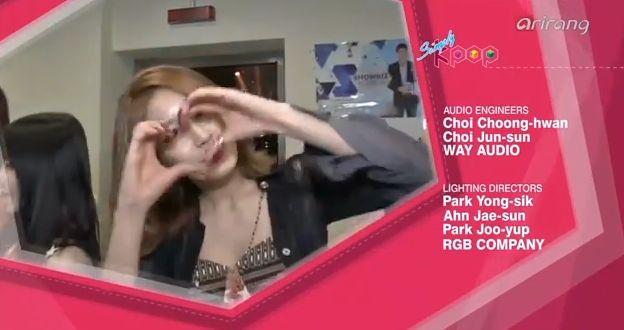 13年11月13日『Simply K-Pop :  T-ara – Number 9』ライブ動画