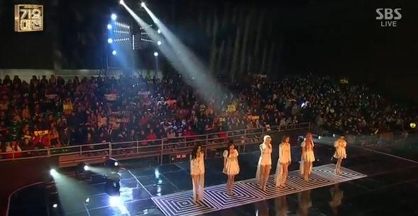 T-ARA13年12月29日『歌謡大典』NUMBER NINEライブ動画