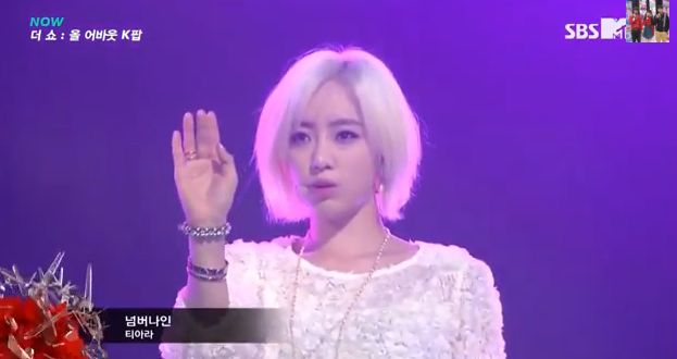 T-ARA12月10日『The Show All About K-POP』NUMBER NINEライブ動画