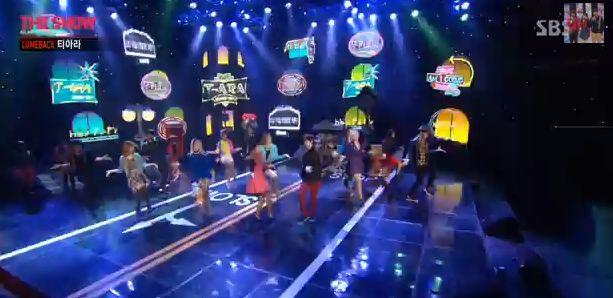 T-ARA13年12月18日SBS『The Show All ABout K-POP』Do You Know Me?ライブ動画