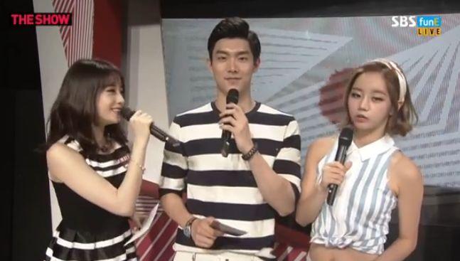 14年7月8日『Show All About K-POP』インタビュー動画【ジヨン・ヒョミン】