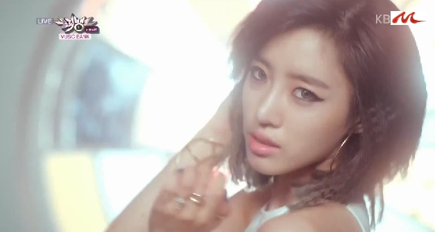 T-ARA14年9月12日『ミュージックバンク』SUGAR FREEライブ動画