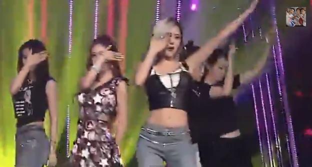 T-ARA14年10月6日『人気歌謡』SUGAR FREEライブ動画