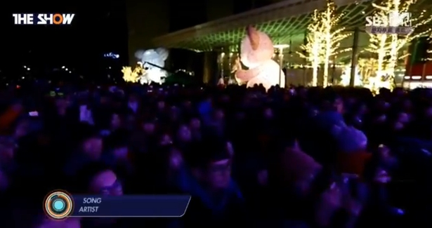 T-ARA14年12月23日『THE SHOW』SUGAR FREEライブ動画
