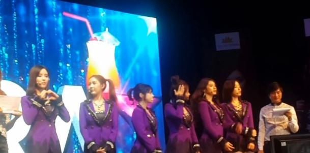 T-ARA15年1月10日『ベトナムファンミーティング』動画