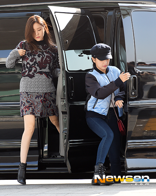 T-ARA15年10月3日『仁川空港』出国時の画像まとめ