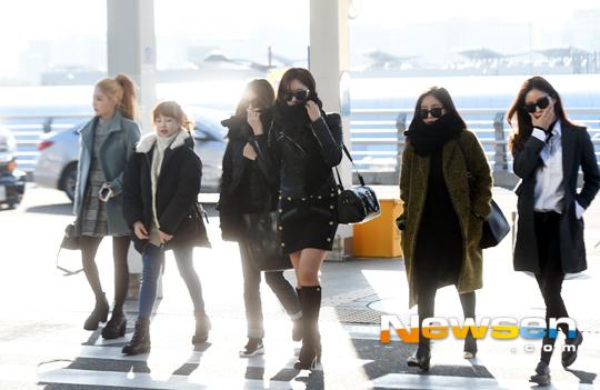 T-ARA15年12月28日『仁川国際空港』出国時の画像まとめ