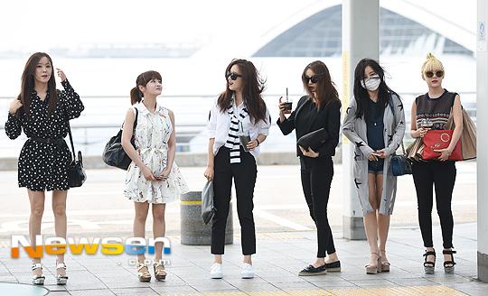 T-ARA16年6月17日「仁川国際空港」出国時の画像・動画まとめ